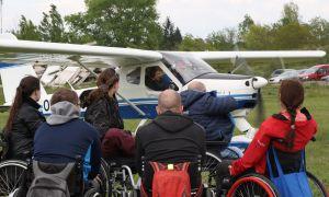 Létání s Parapletem a Českou televizí